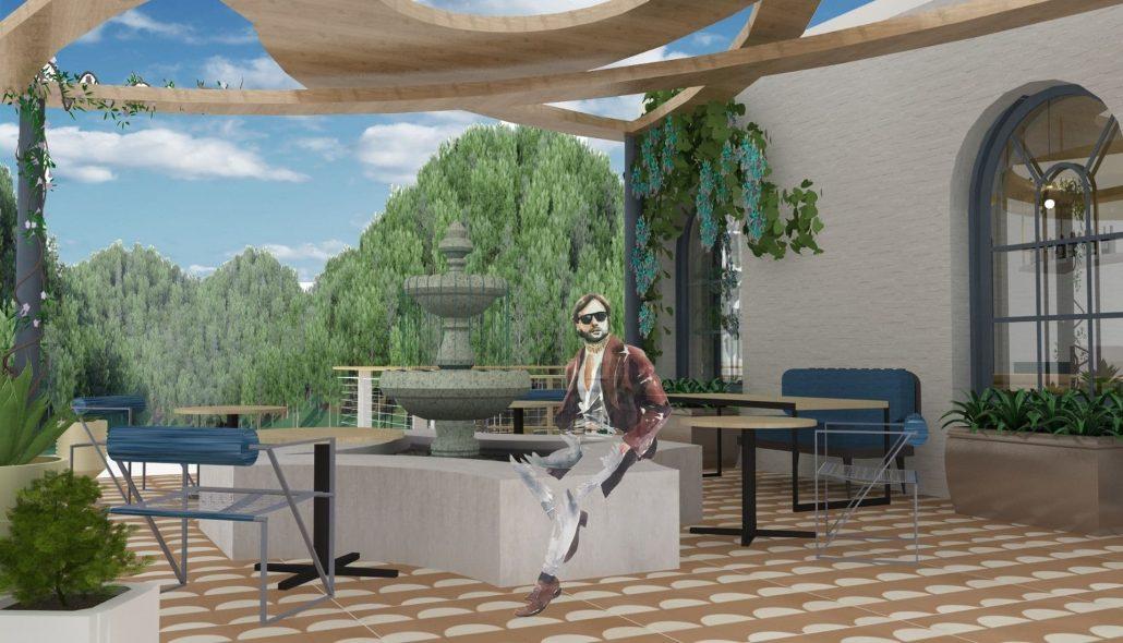 dimmi flora restaurant alfresco courtyard