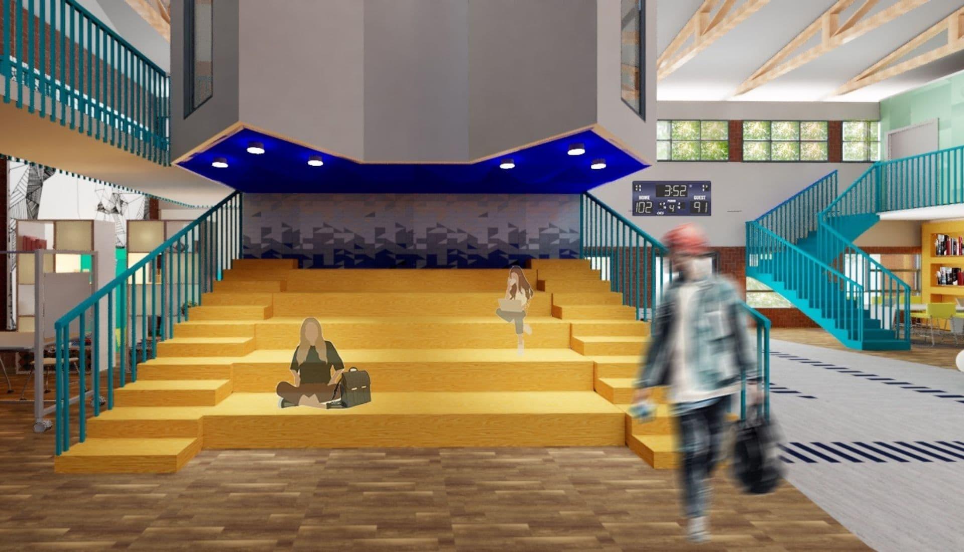 murrumbidgee high school amphitheater seating